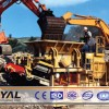 Mobile construction waste crushing plant to build high-quality living environment