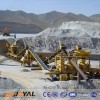 Joyal gravel production line configuration requirements summary