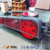 Correct installation procedure for roller crusher (a)
