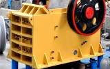 Jaw crusher thrust plate wear problems (a)