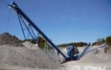 Limestone processing line configuration