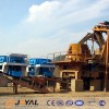 What are the machines of the sand production line?