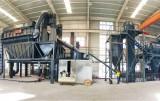 The operation method of quartz powder mill