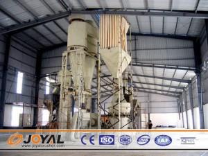 gypsum grinding plant