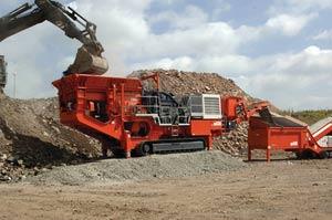 syenite mining crusher