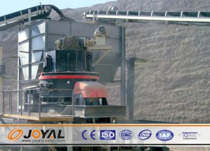Joyal sand making equipment used in concrete aggregate production