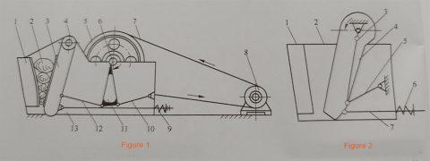 diagram of jaw crusher