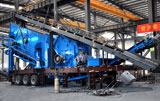 Mobile Impact Crushing Plant