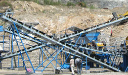40-60 TPH Jaw & Impact Crushing Plant