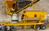 Mobile crushing plant to promote stone industry development