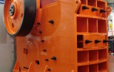Jaw crusher equipment type and operating conditions of the installation