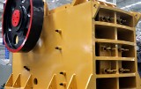 The use of the jaw crusher bracket